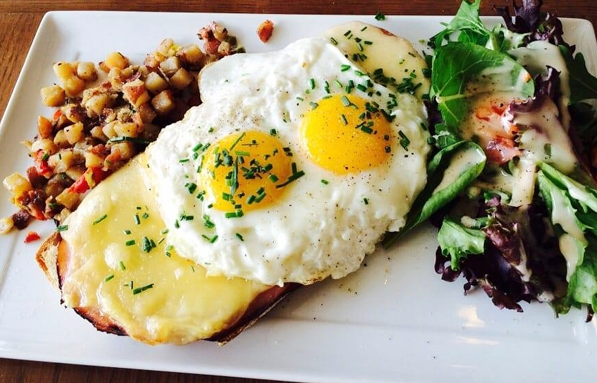 The Croque Madame at Pandor is beyond decadent and satisfying