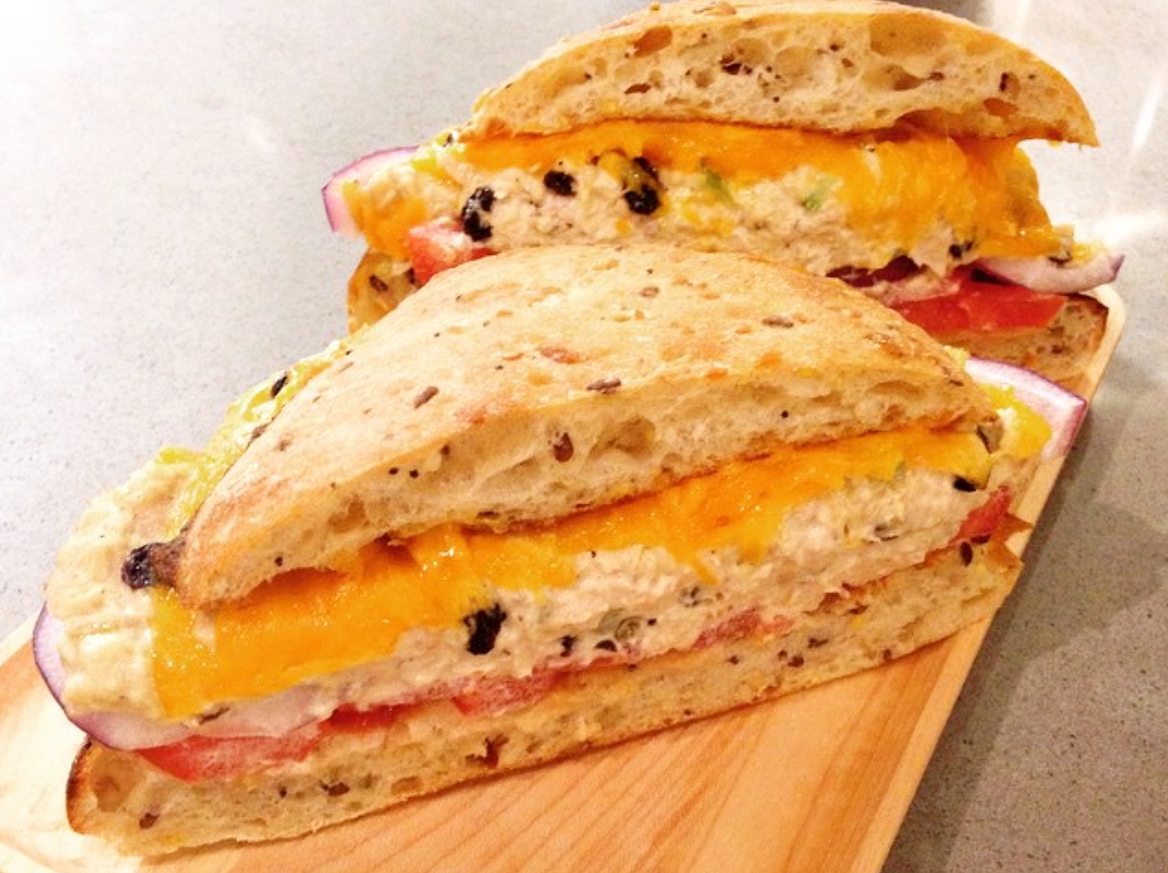 Tuna and grilled cheese come together due to a stroke of genius over at Stockyard Sandwich Co.