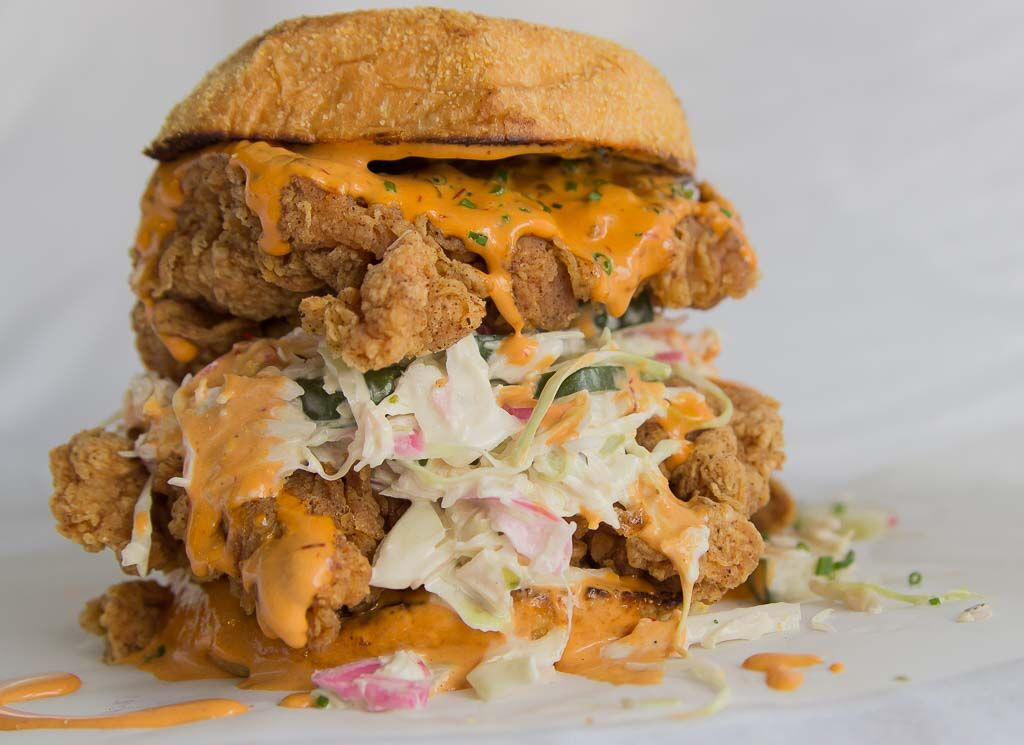 Double the chicken, double the satisfaction this Sandwich Day at Two Birds located within TRADE