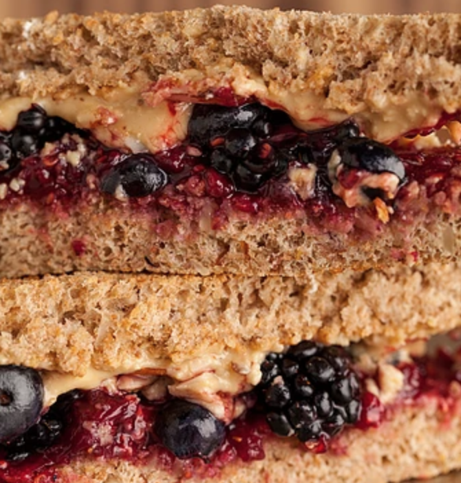 There's no other PB&J quite like this one from Blackmarket Bakery