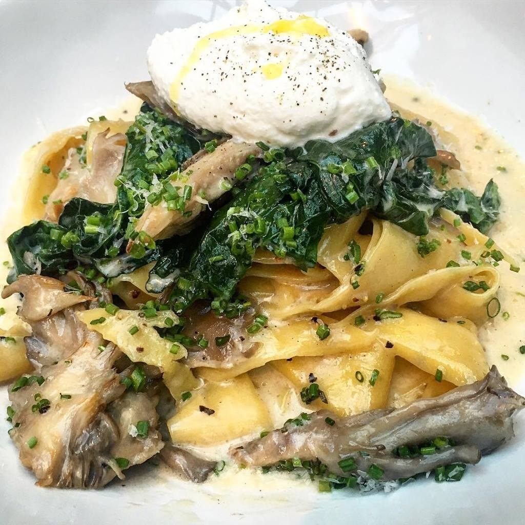 Craving Noods...? Don't skip the decadent Mushroom Pappardelle from Firefly in Studio City
