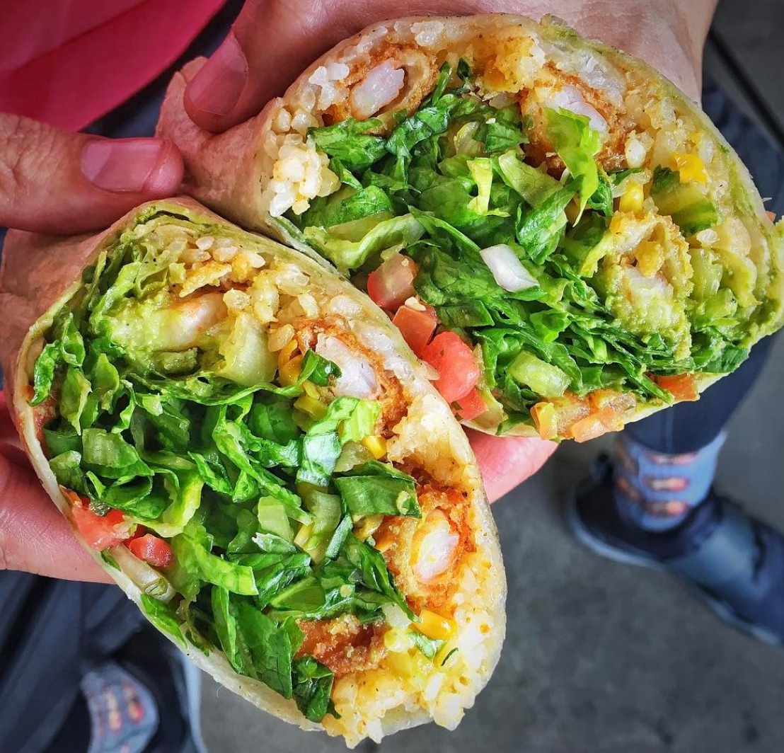 Healthy and handheld, you can't go wrong at West Coast Fish | photo courtesy of Marc Kharrat