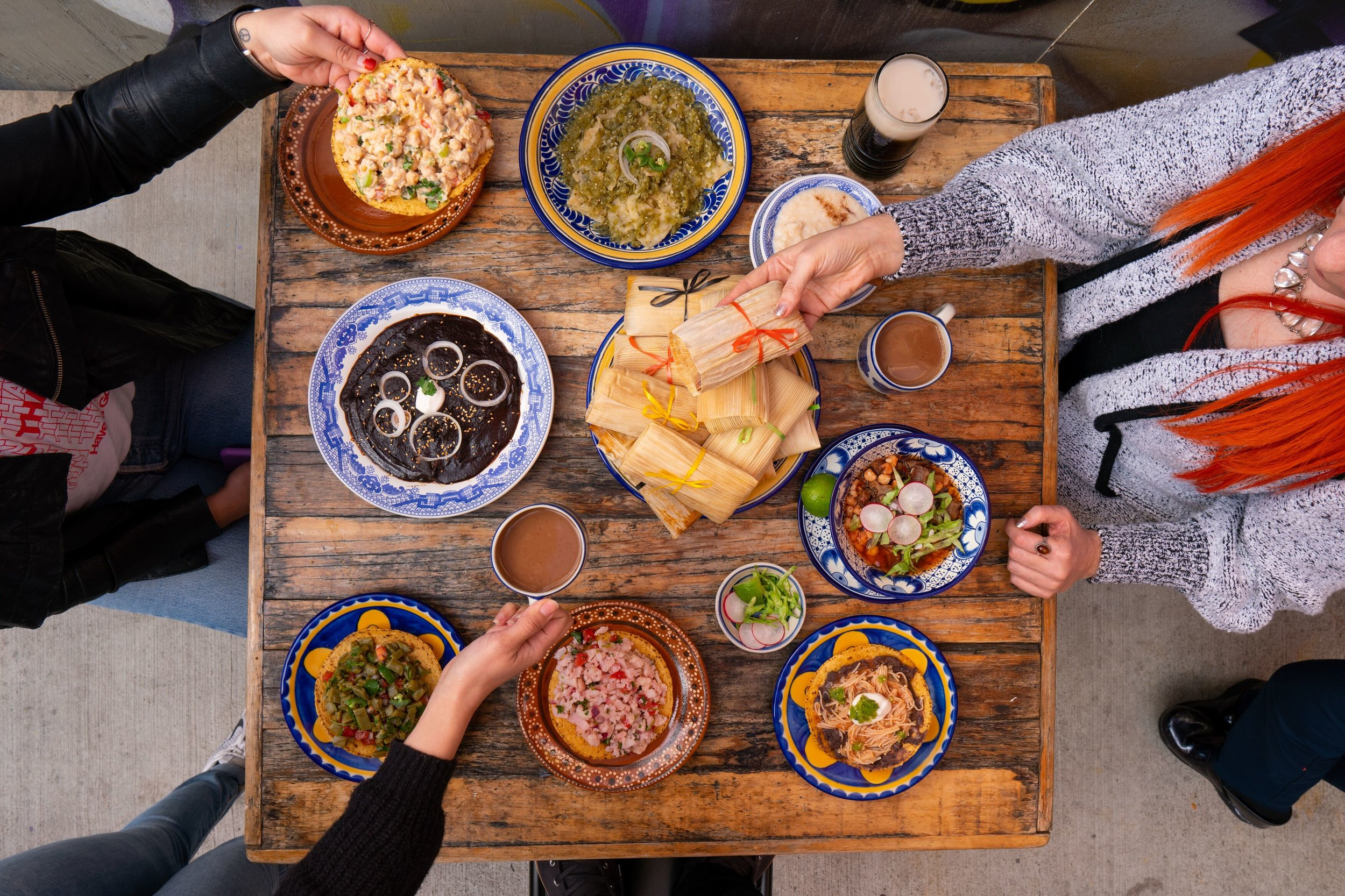 Experience delicious Vegan Mexican cuisine from La Vegana Mexicana, now at Santa Ana's popular food hall, 4th Street Market | photo courtesy of 100inc Agency