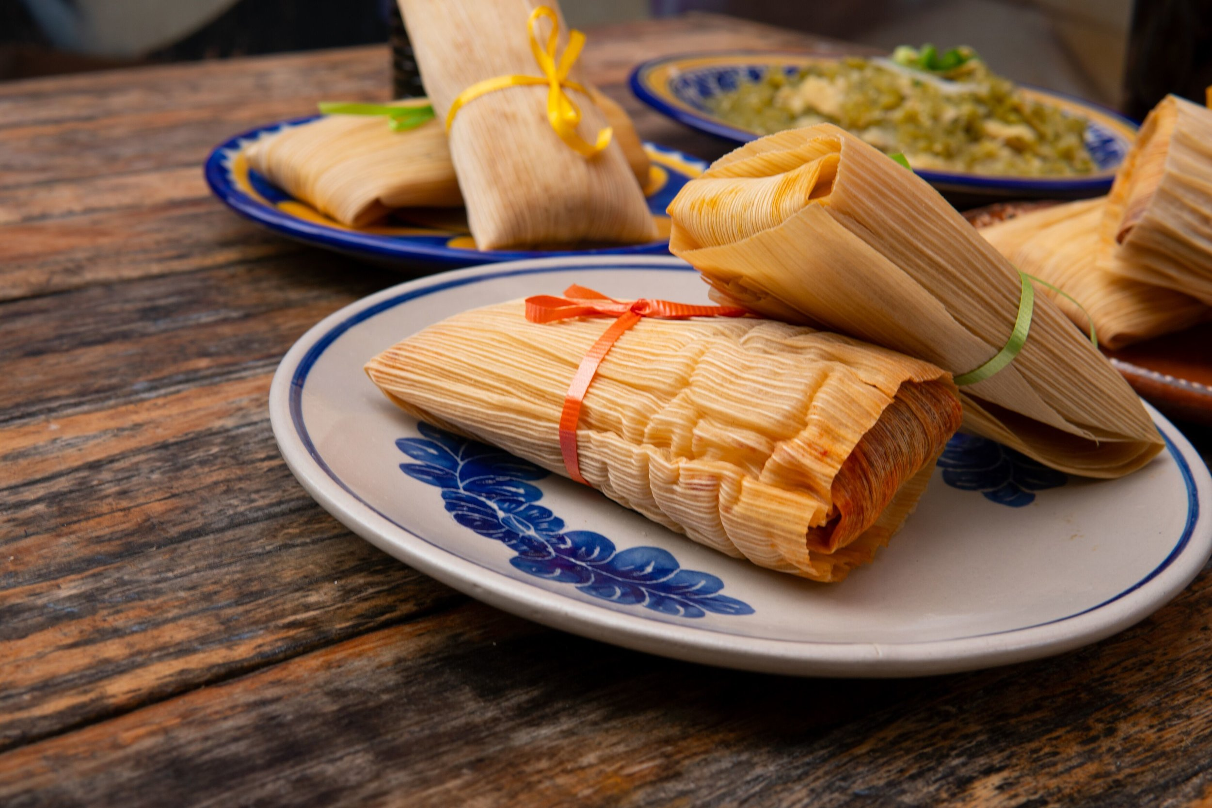 While the menu is varietal, the tamales are one of the most popular items available at La Vegana Mexicana | photo courtesy of 100inc Agency