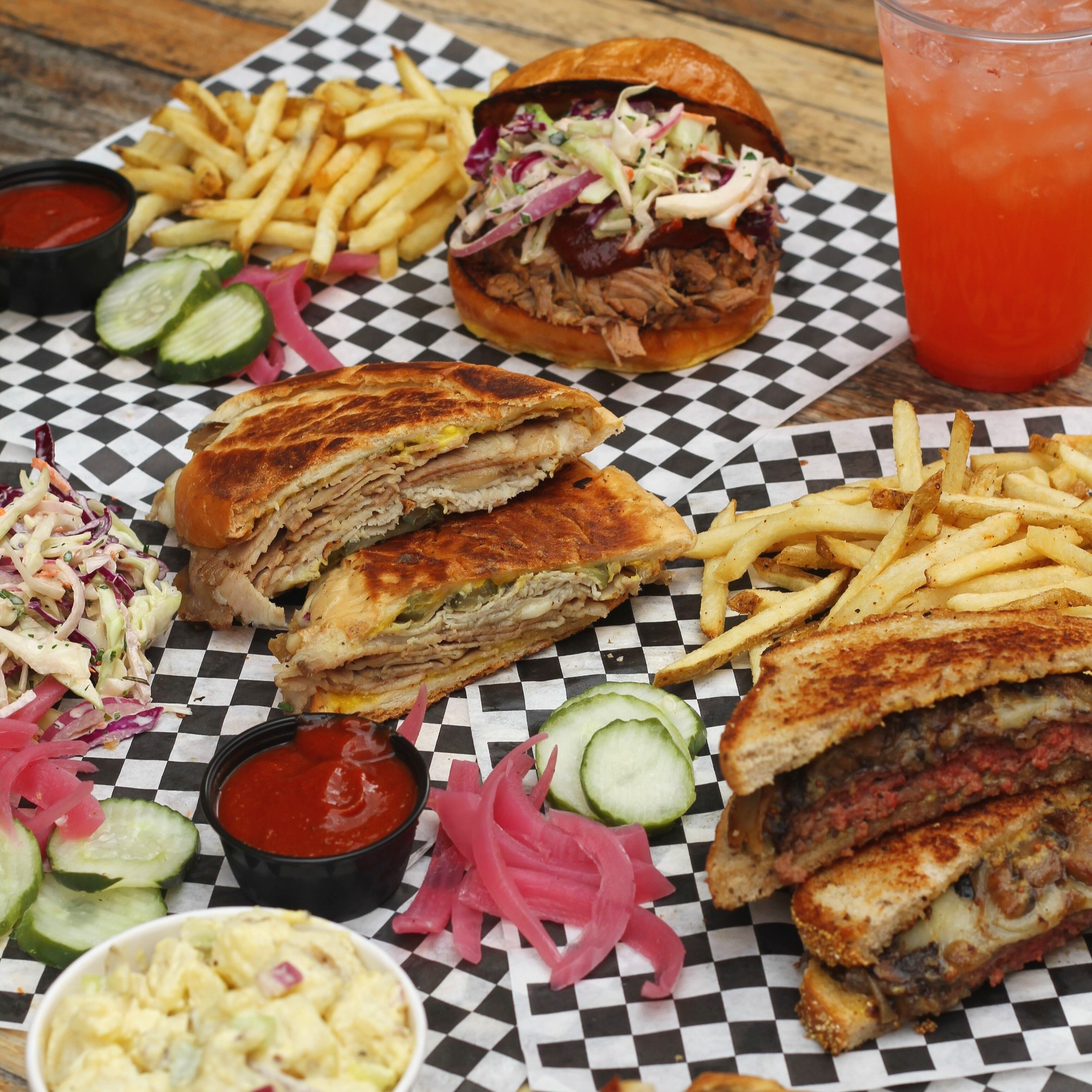 The team behind Electric City Butcher is now offering sandwiches and ranch-to-table BBQ at Off the Hoof, now open at 4th Street Market | photo courtesy of 100inc Agency