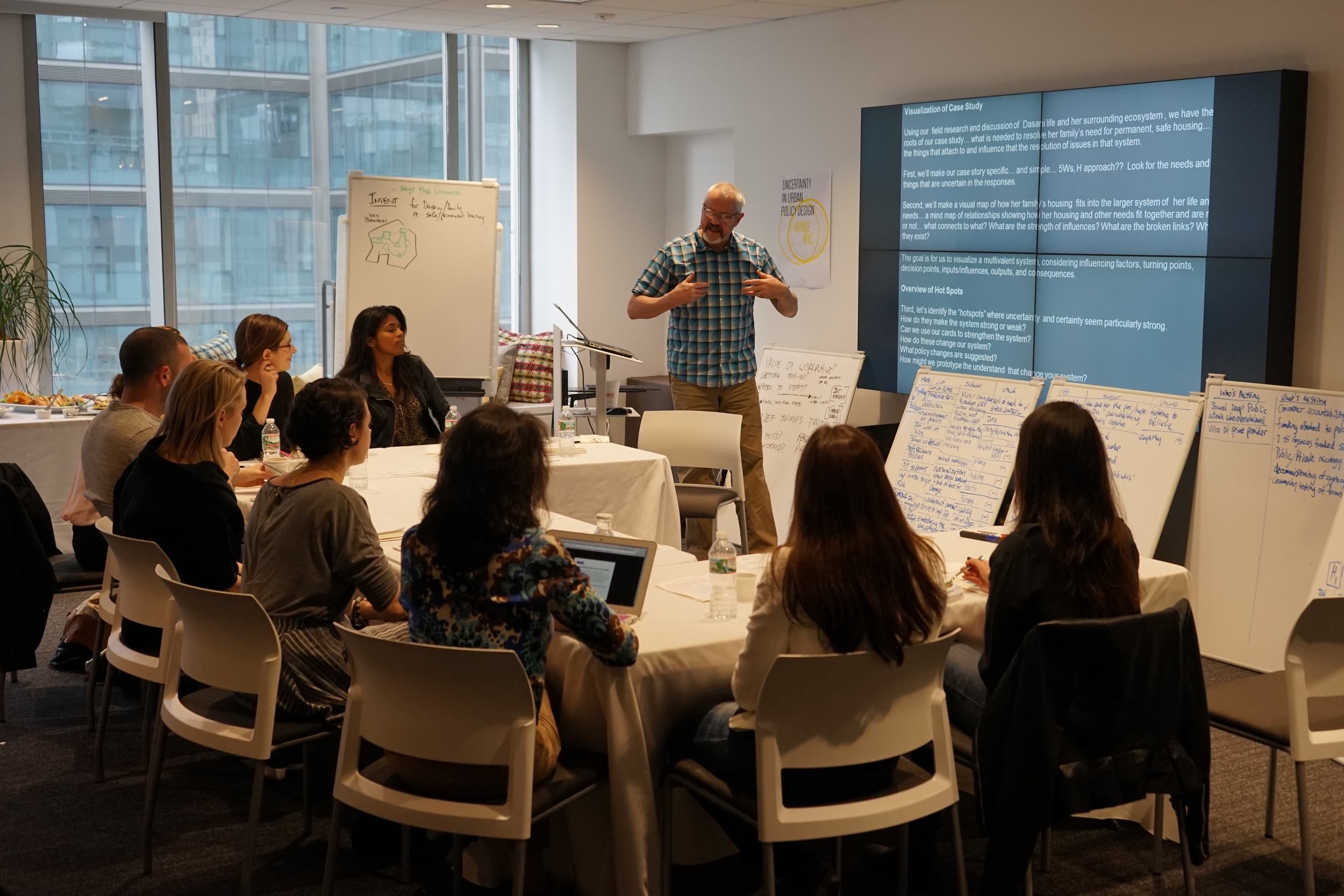 Uncertainty in Public Policy Design with Steelcase and the NYC Mayor's Office