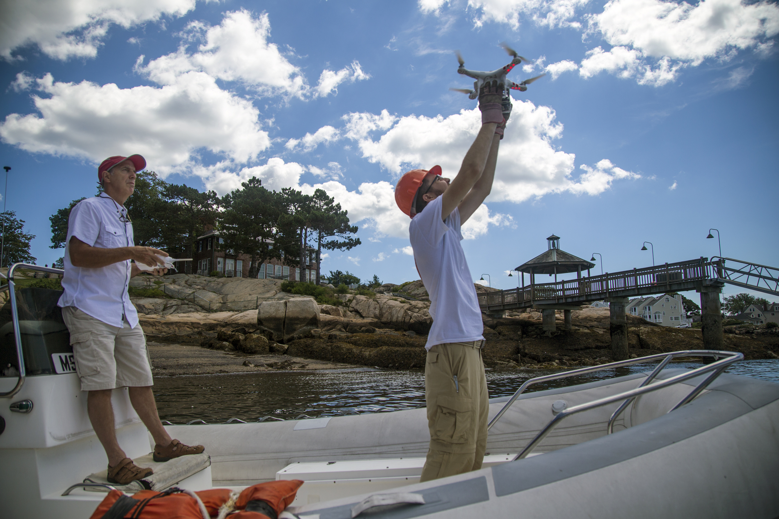 Saving the oceans, one snot-drone at a time in Gloucester