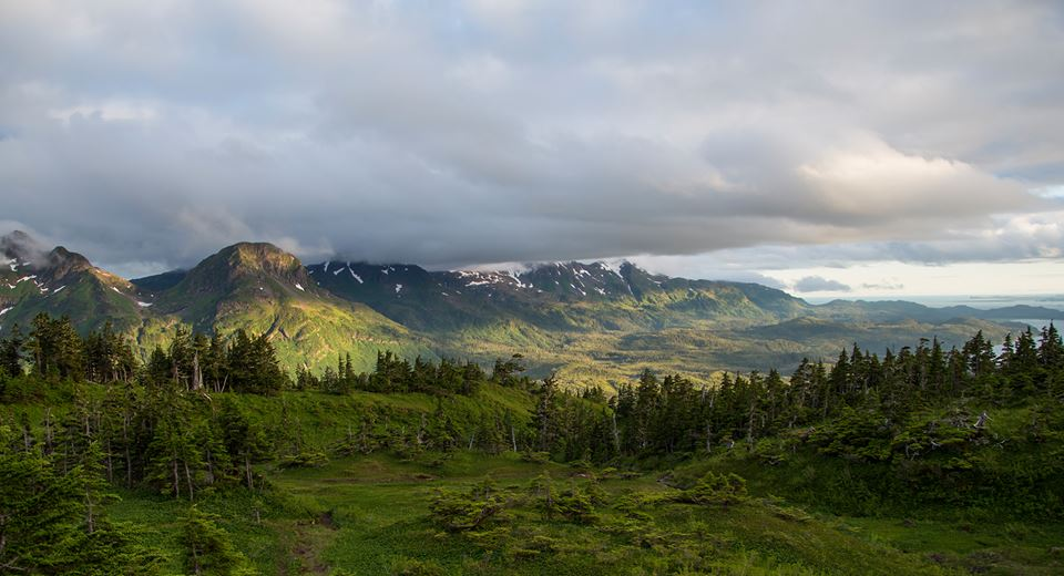 "Hiking Eyak Peak past 10 p.m., where ""golden hour"" lasts forever"