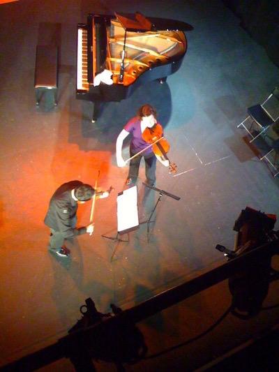 With violist Melia Watras