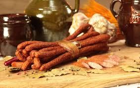 Pork Beer Sticks (Kabanosy)