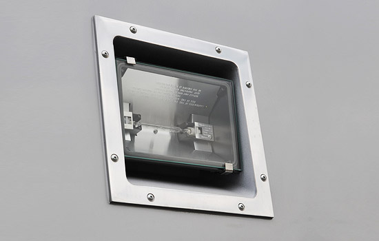 RECESSED 110 VOLT QUARTZ LIGHT