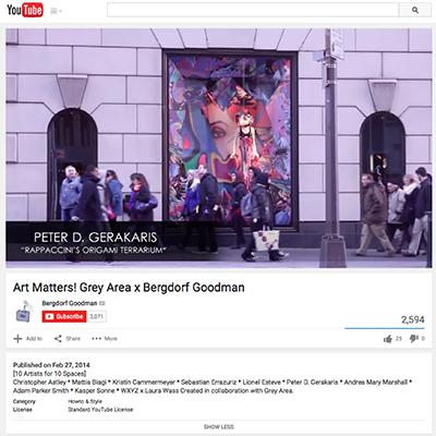 Art Matters! at Bergdorf Goodman