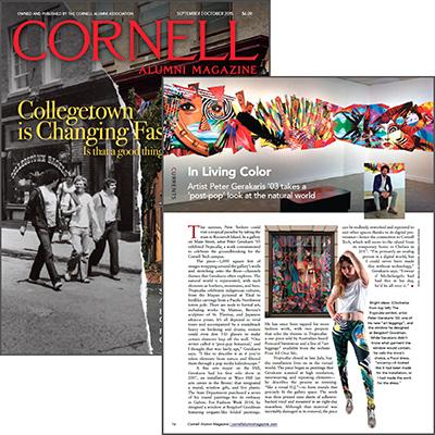 Cornell Alumni Magazine - Sept/Oct 2015
