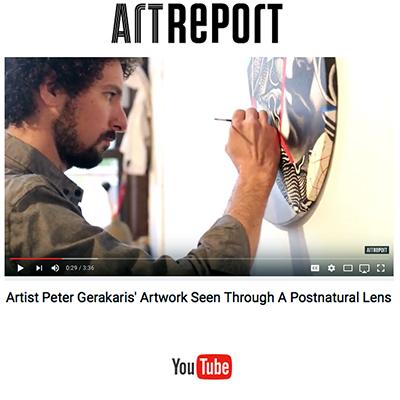 Video: Art Report Video Feature on Peter Gerakaris
