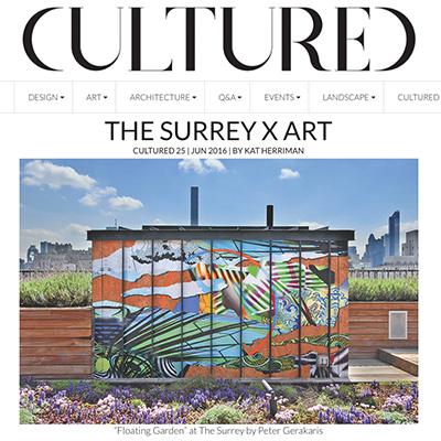 Cultured Magazine - The Surrey x Art