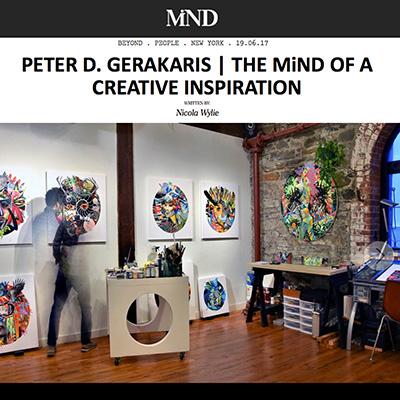 Peter D. Gerakaris - MiND Magazine
