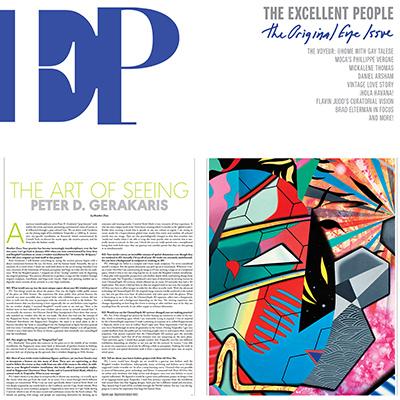 EP Magazine - Peter D. Gerakaris Feature