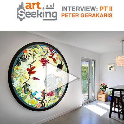 Art & Seeking: Part II Interview w/ Peter D. Gerakaris
