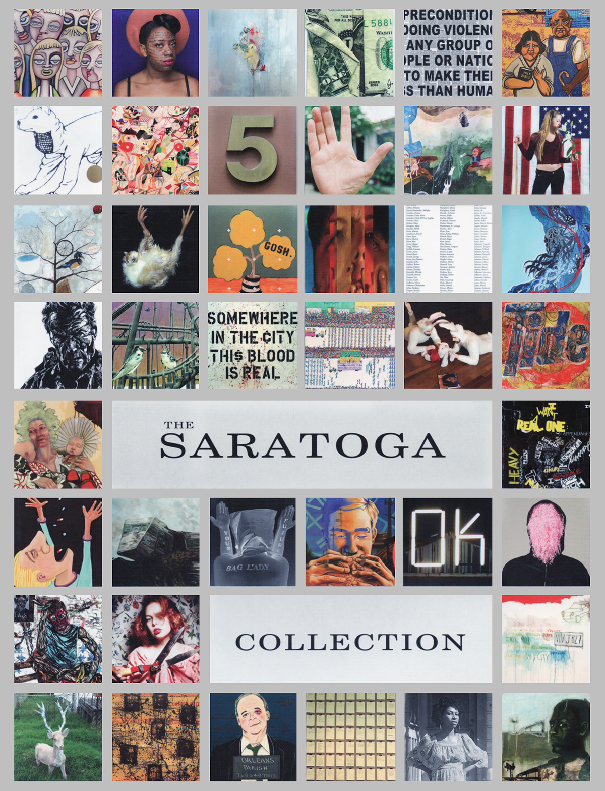 The Saratoga Collection catalog