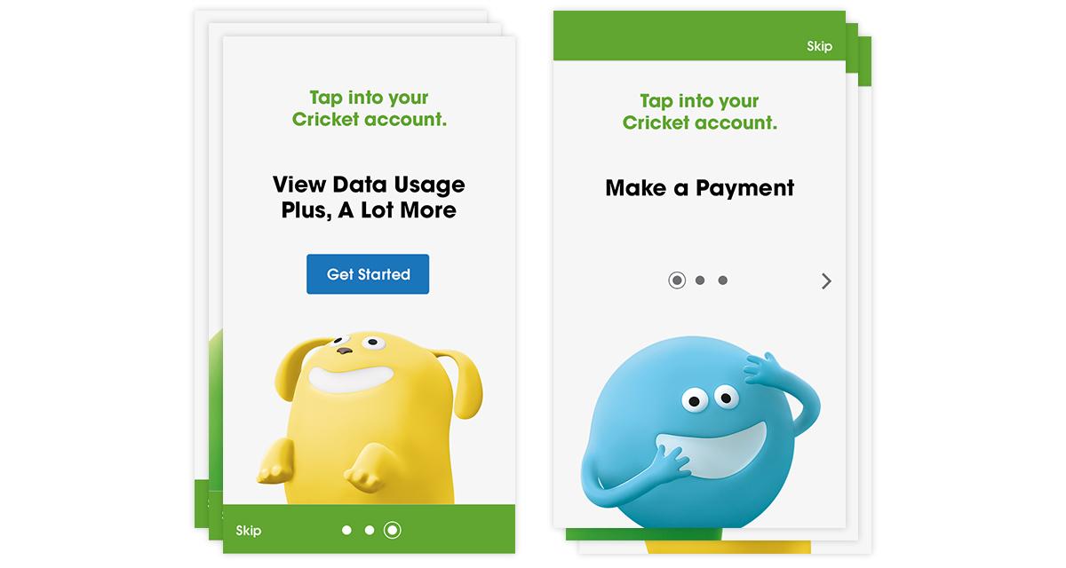 Cricket Wireless Native App — Heather Dickens | Creative, UX