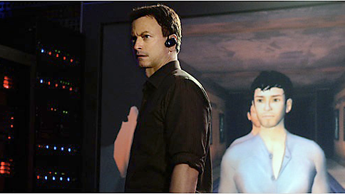 """CSI:NY  We produced animation for an episode of CSI: NY where they had to track down a killer in an online virtual world. Gary Sinise got to yell """"Turn if off"""" in front of a life size display of his virtual character."""
