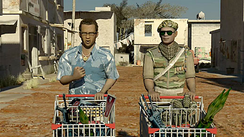 MRM Worldwide, Intel  MRM Worldwide contracted us to produce a series of viral videos for Intel aimed at gamers, incorporating characters from zombies and demons to 3rd world warlords with shopping carts full of guns.