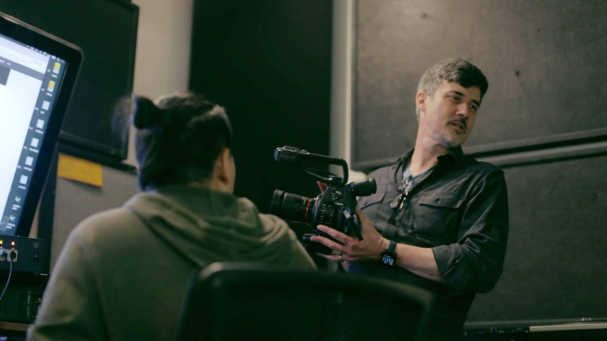 Frank Dellario-On set.jpg