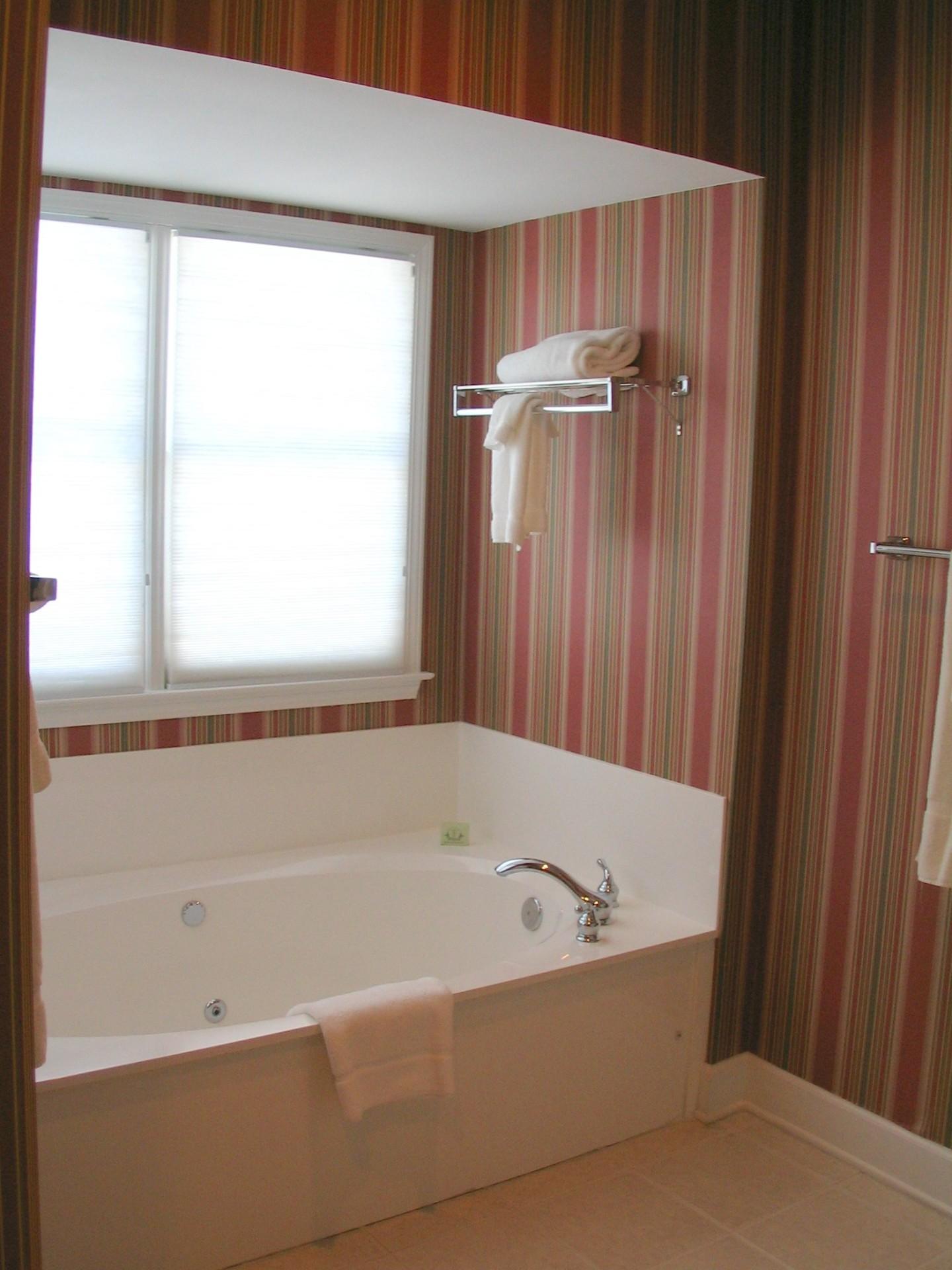 Jacuzzi in Master Bath
