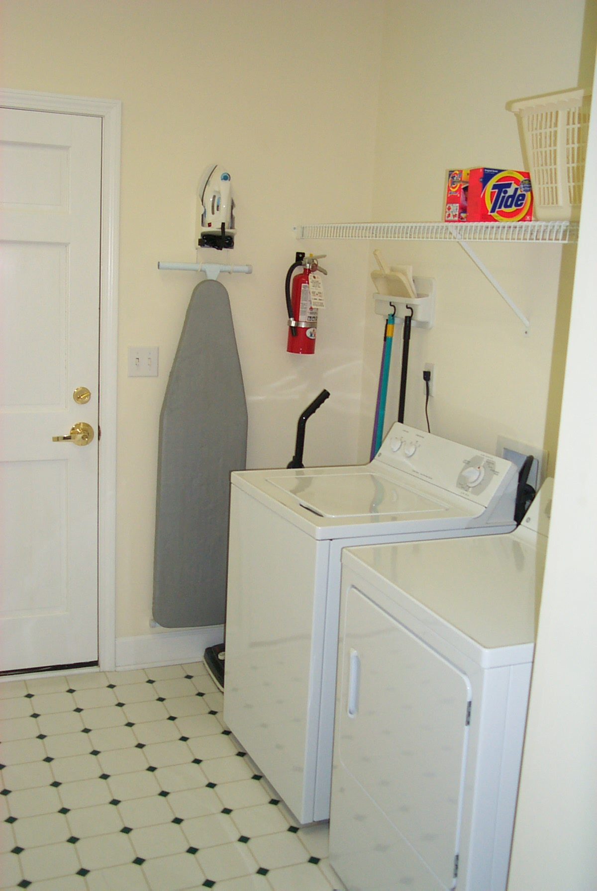 Stocked Utility Room