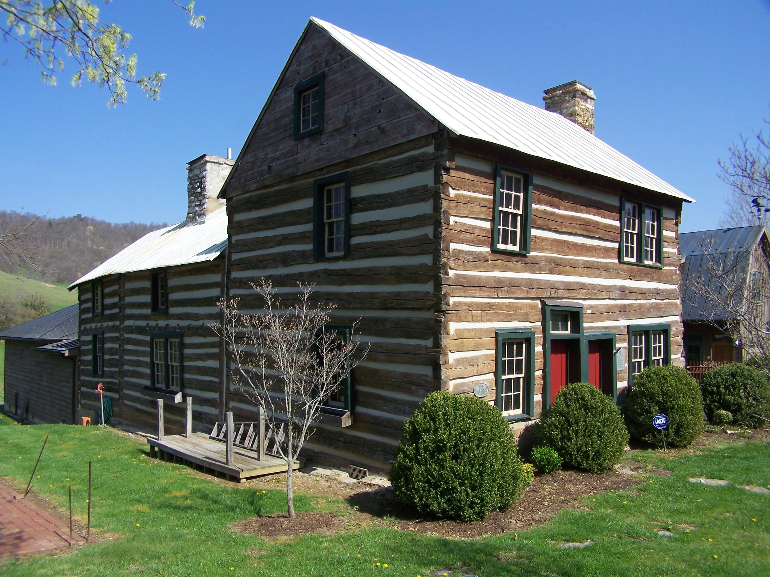 Historic 1780 Mustoe House South of Hot Springs, VA