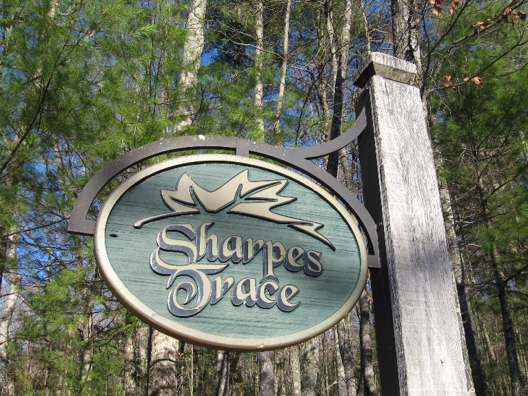 3.55 Acre Double Lot in Sharpes Trace Subdivision