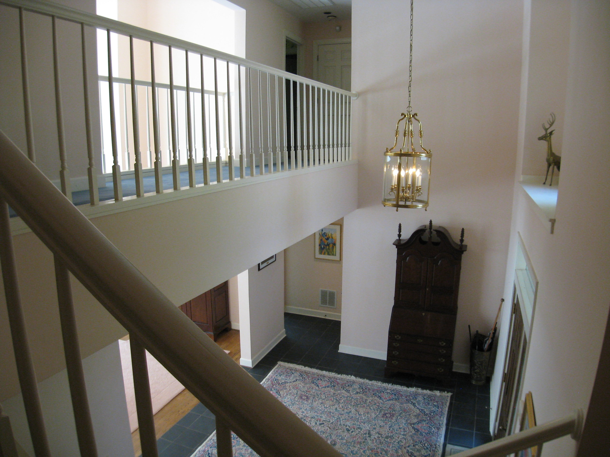 Stairwell to Second Floor