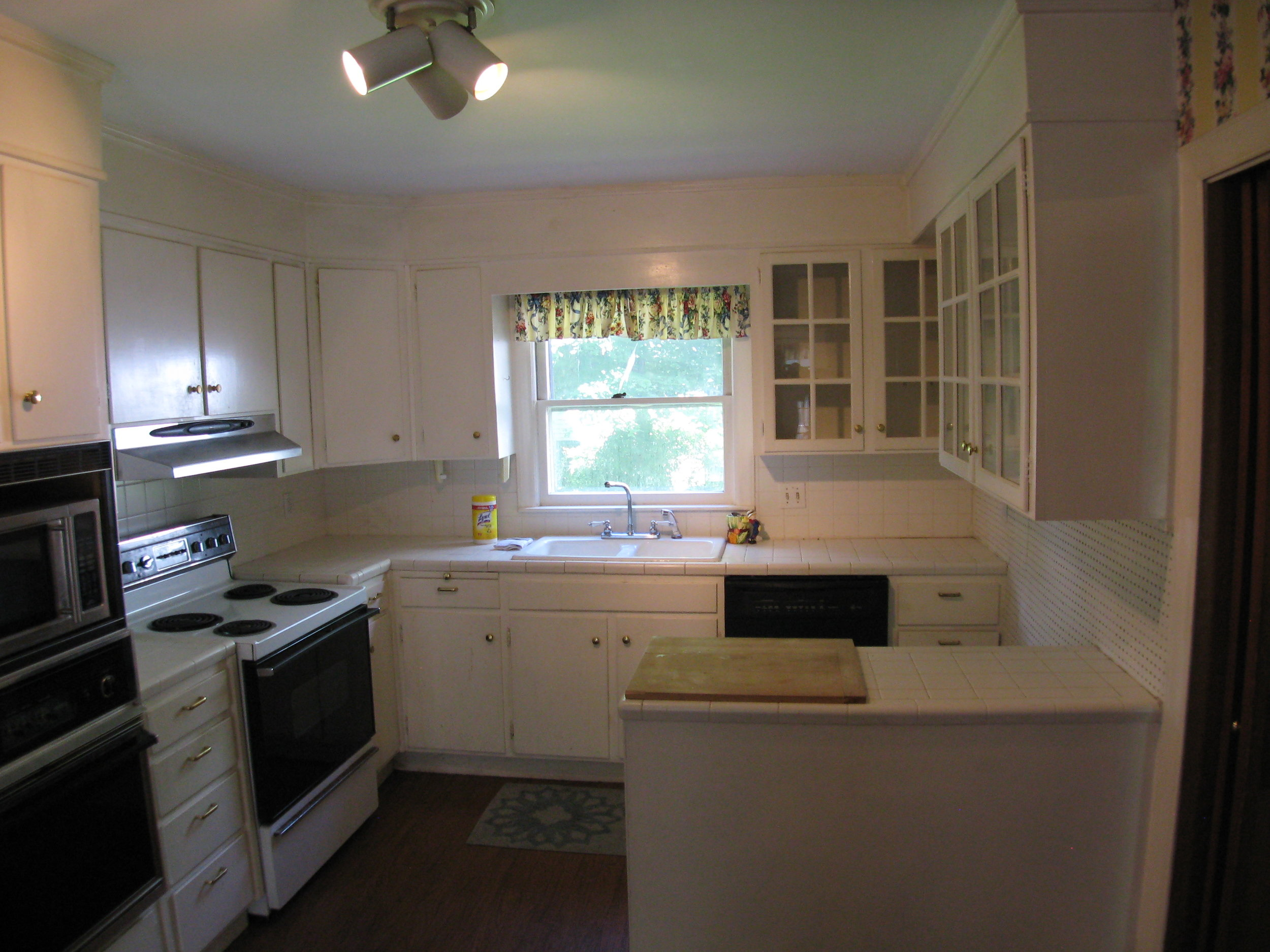 Kitchen off Dining Room