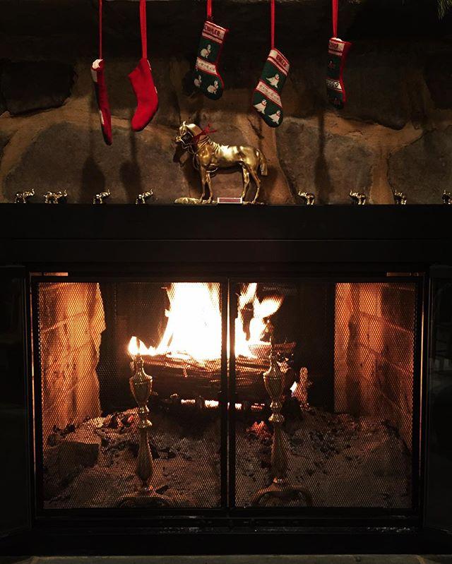 Stay warm #hangingontochristmas . . . #ruralamerica #countryliving #virginiafarms #virginia #bathcounty #hotsprings #omni #thehomestead  #blueridgemountains #shenandoah #realestate #bestplacestolive #lovewhereyoulive  #vacationrental #virginiamountainhomes #bacovaproperties