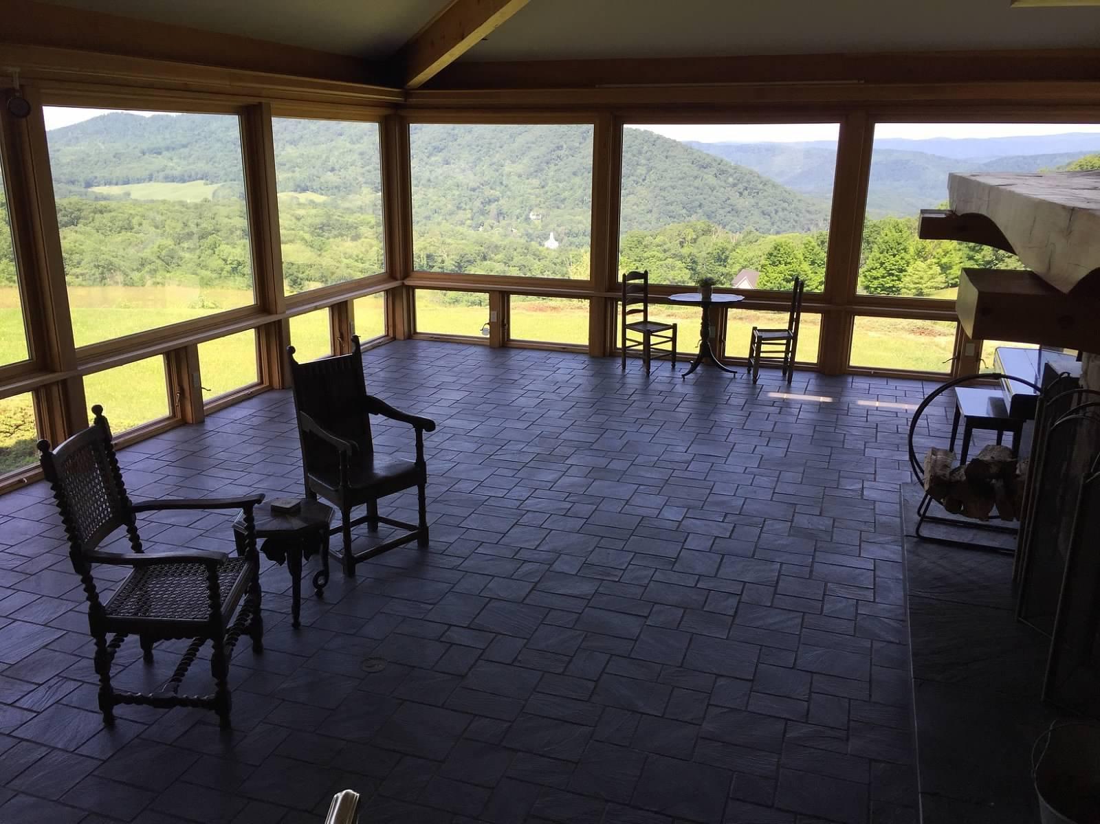Main Floor Living Room View
