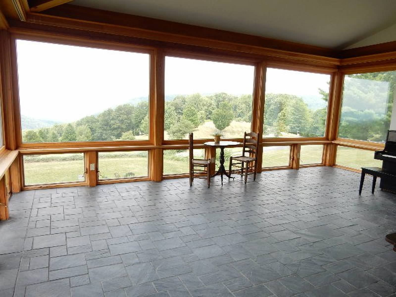 Main Floor Living Room Windows