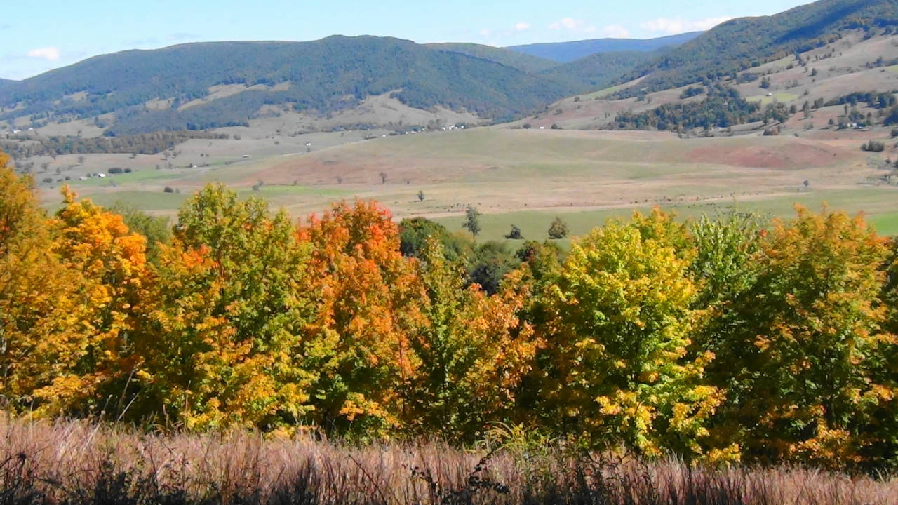 Fall in the Blue Grass Valley