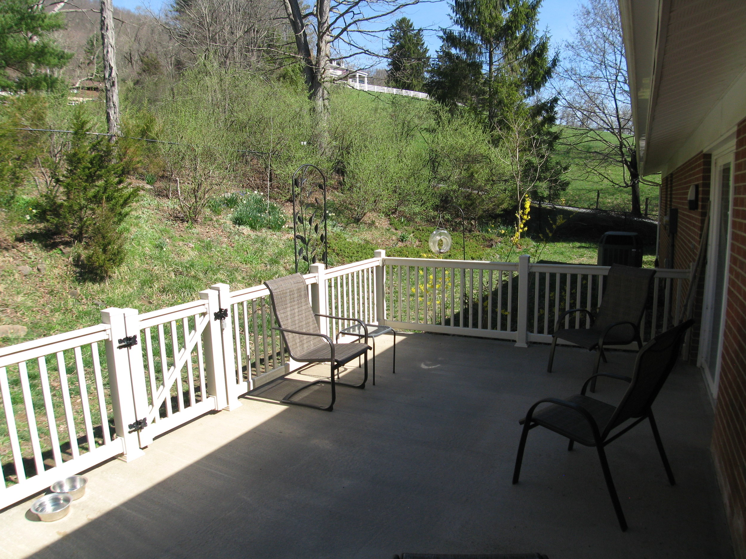 Rear Deck off Family Room