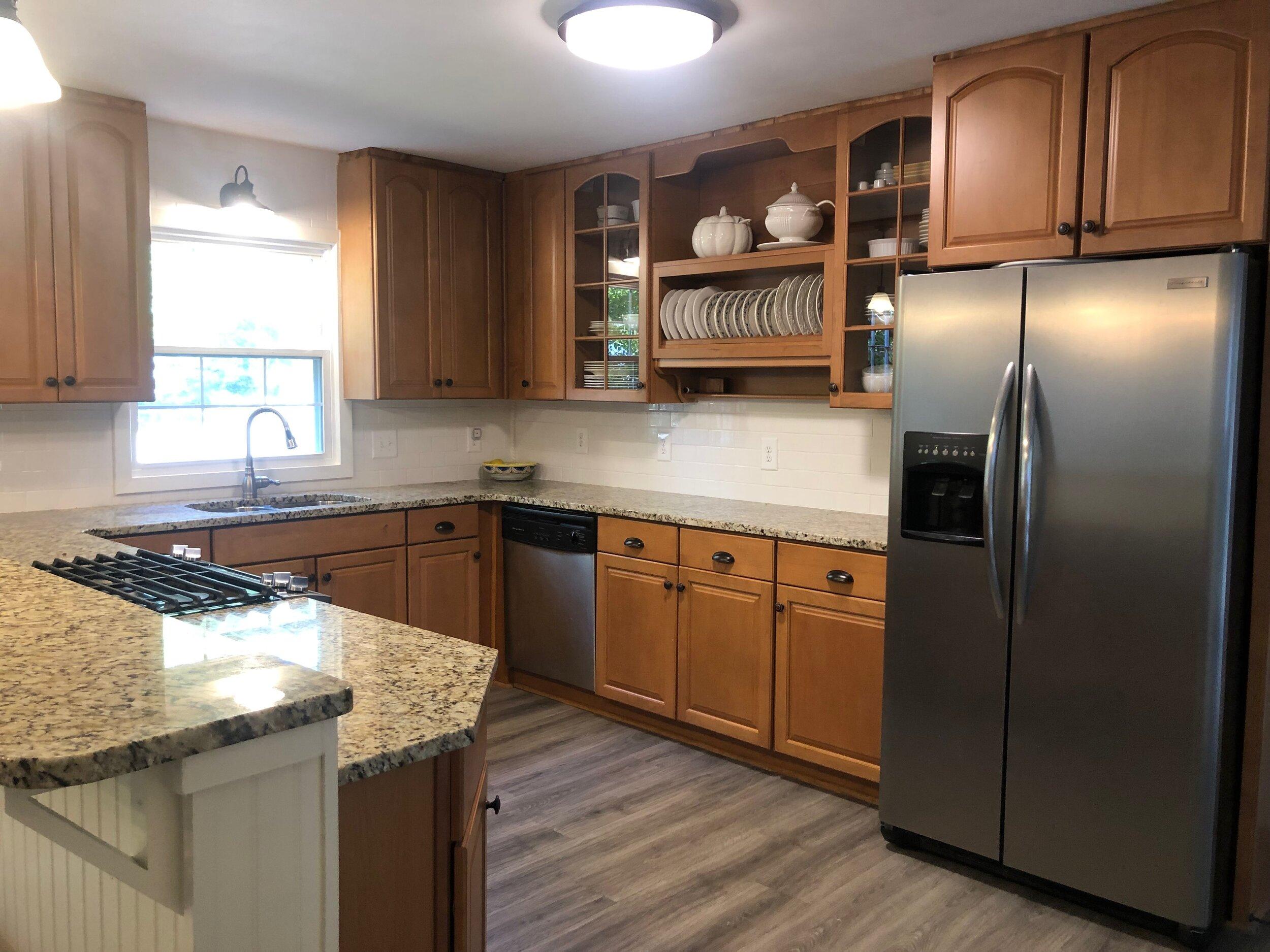 New Kitchen Frigidare Appliances