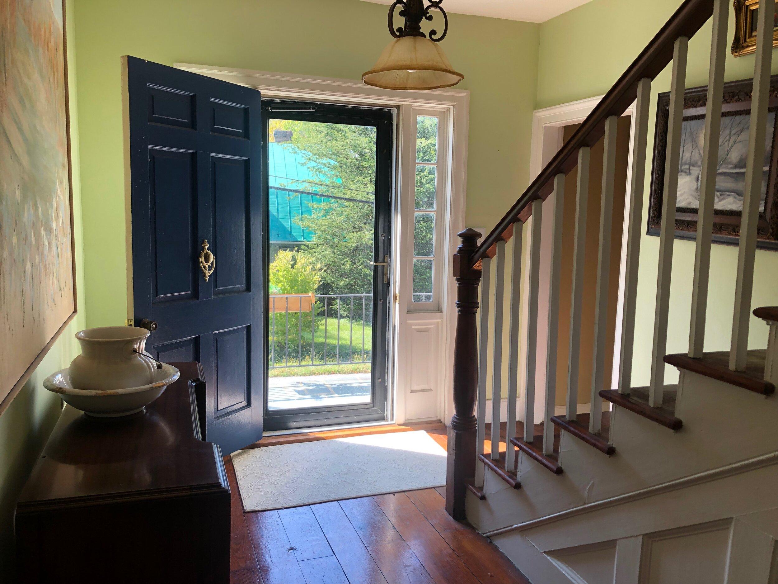 Light Filled Foyer