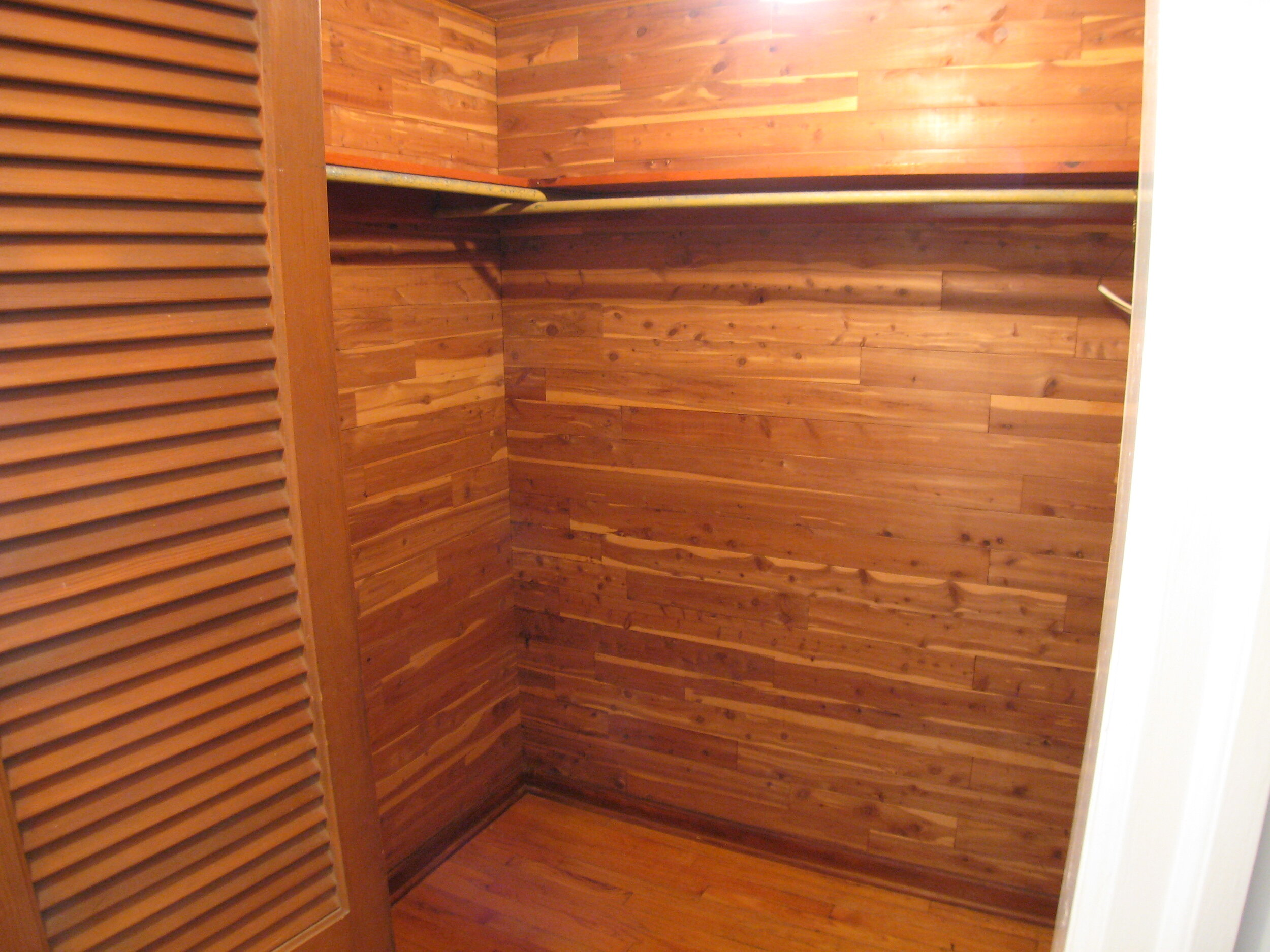 Upstairs Walk-in Cedar Closet
