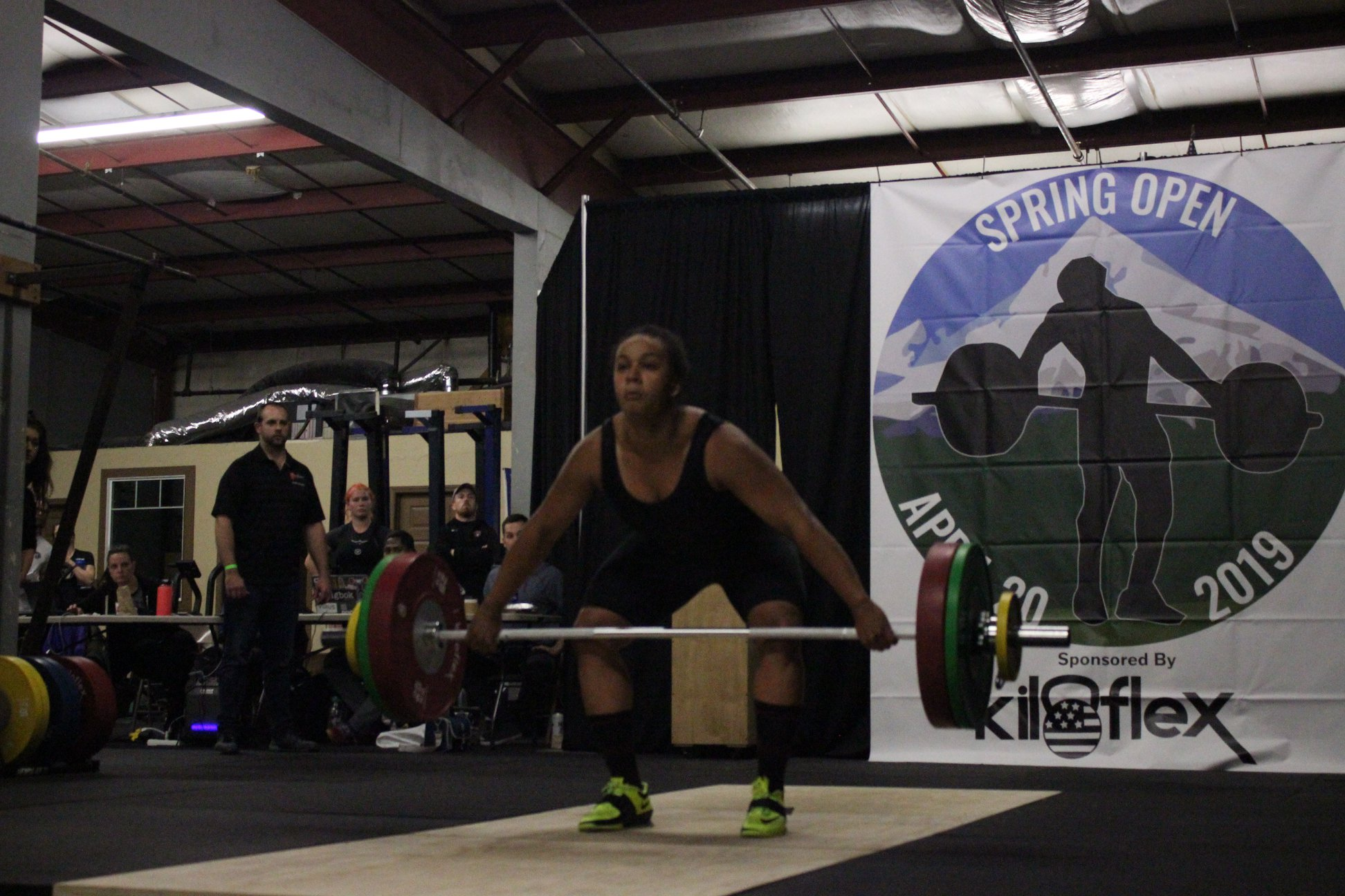 Women's A Session Snatch Photos