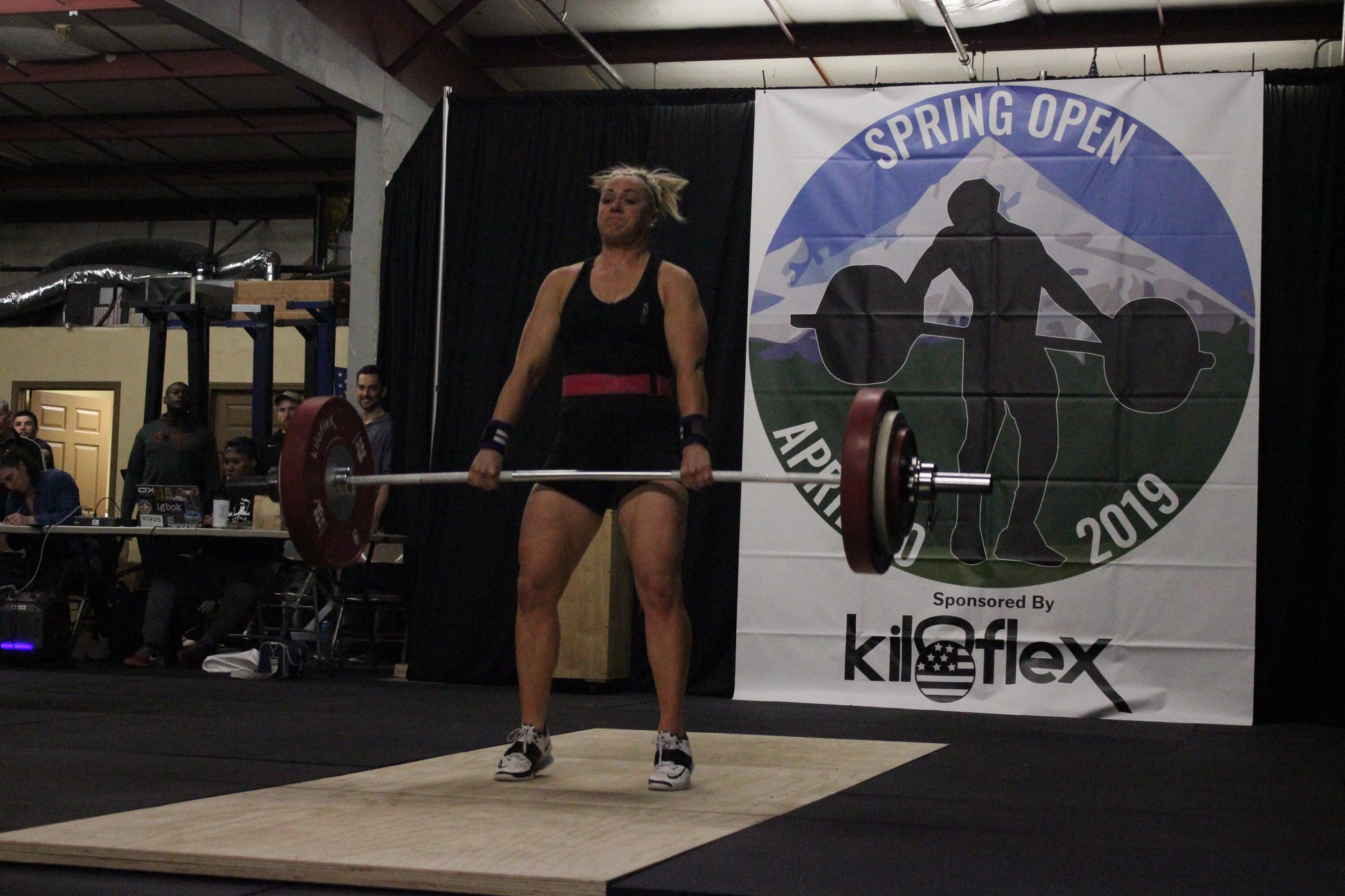 Women's A Session Clean & Jerk Photos