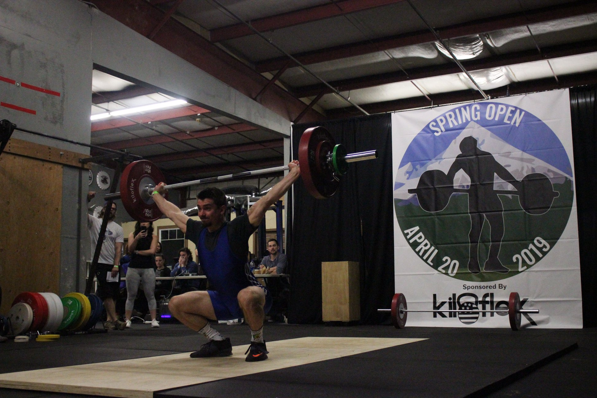 Men's B Session Snatch Photos