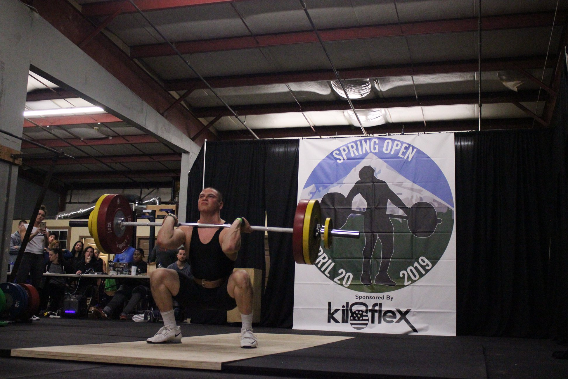 Men's B Session Clean & Jerk Photos