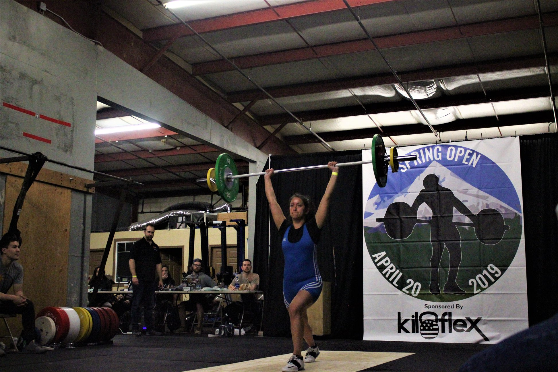 Women's B Session Clean & Jerk Photos