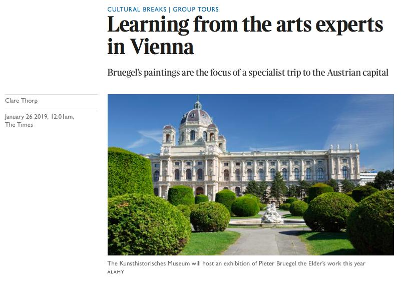 Bruegel Vienna Times Travel