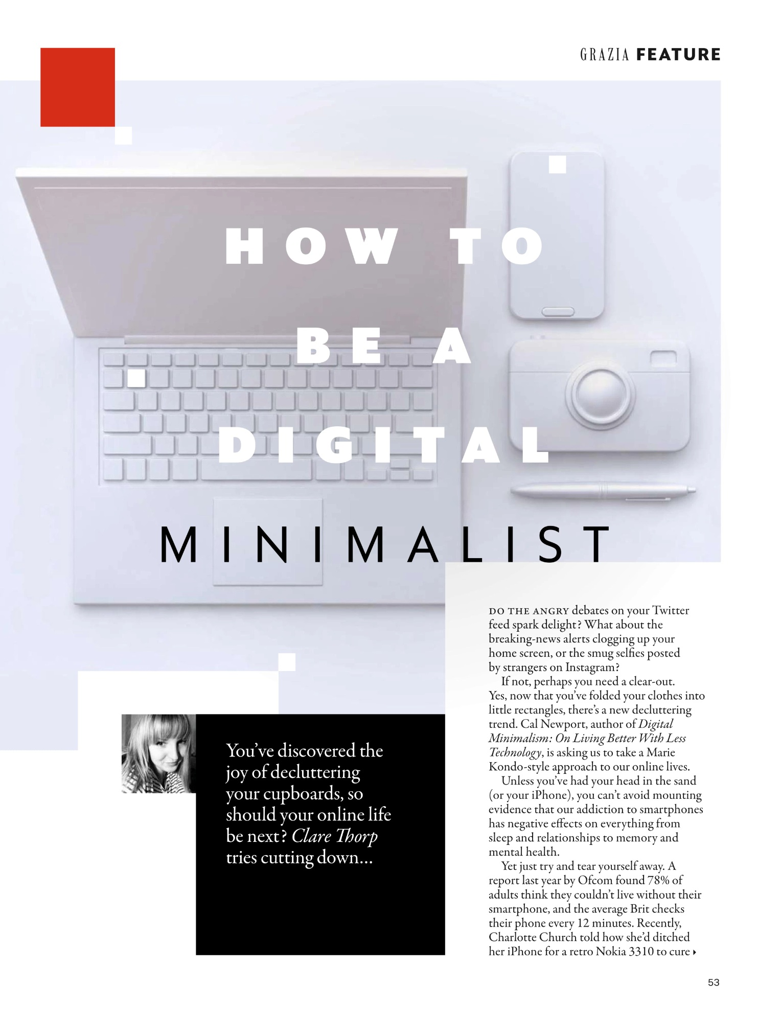 digital minimalism grazia kondo