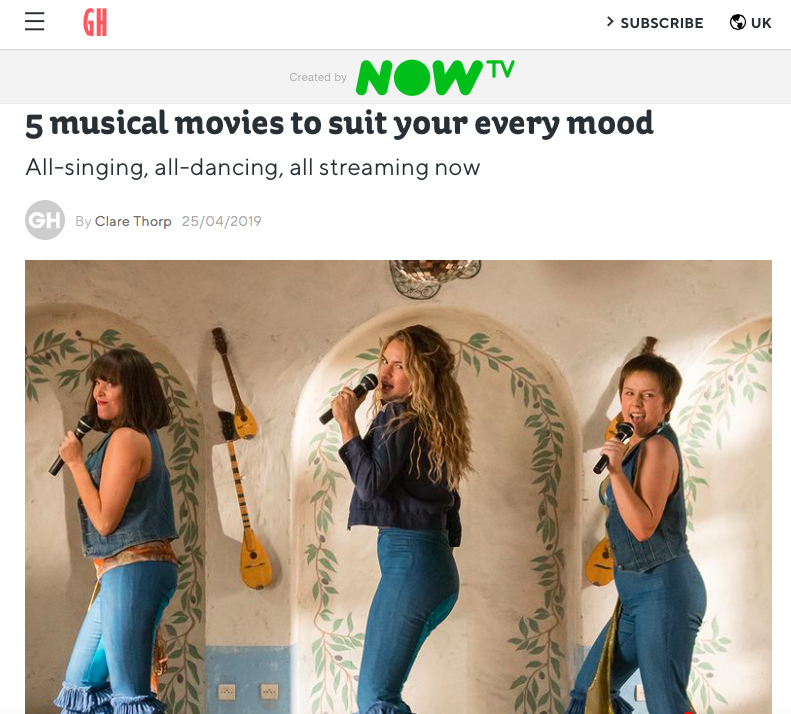 Musicals for every mood
