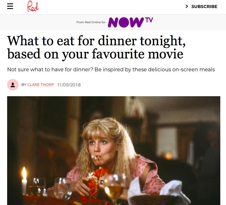 Best dinner scenes in movies